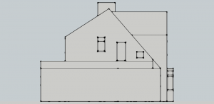 Proposed  - West Elevation